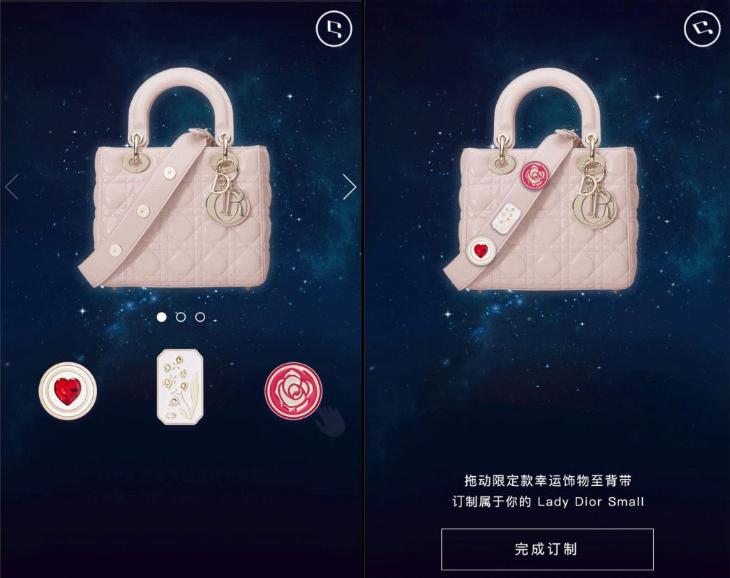 Dior Bag WeChat Flash Sale