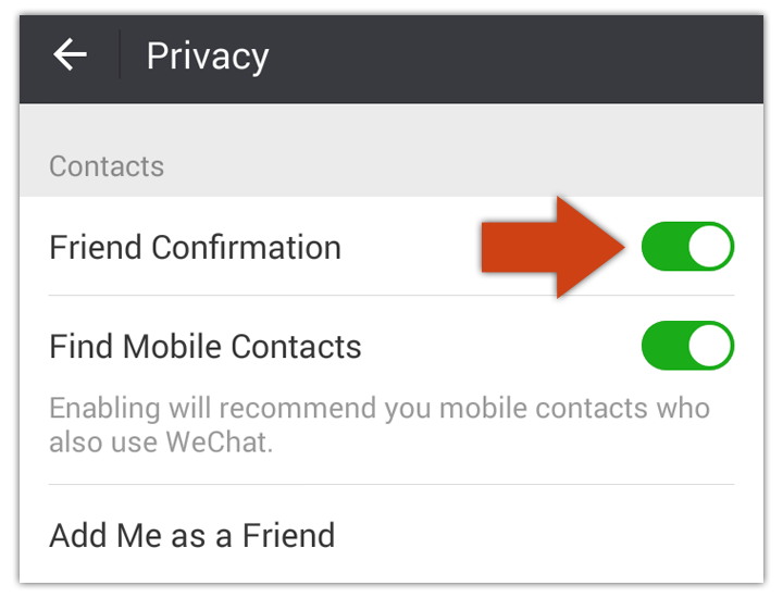 delete wechat friend confirmation