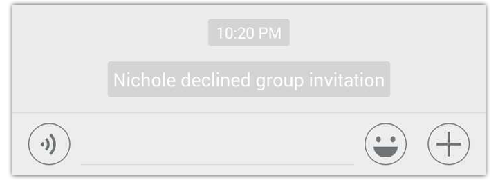 delete wechat declined group invitation