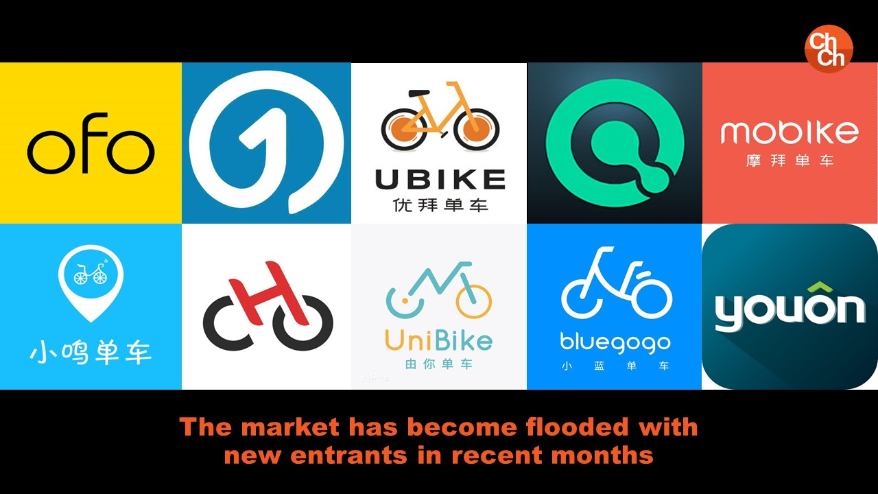 The market has become flooded with new entrants in recent months