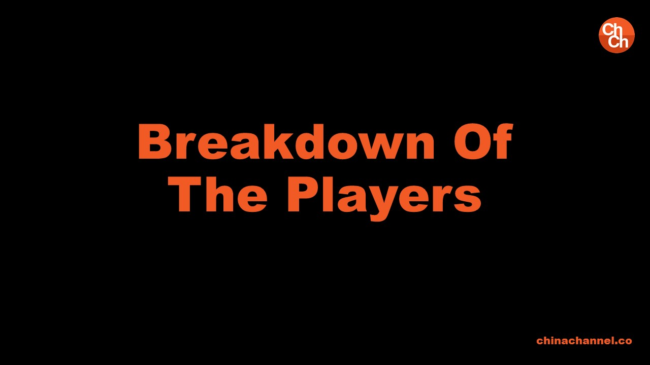 Breakdown Of The Players
