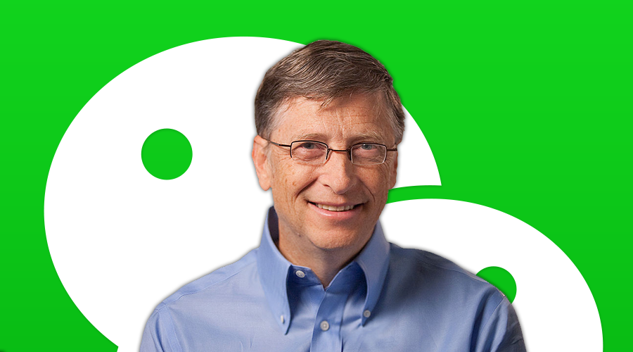 Bill Gates On WeChat
