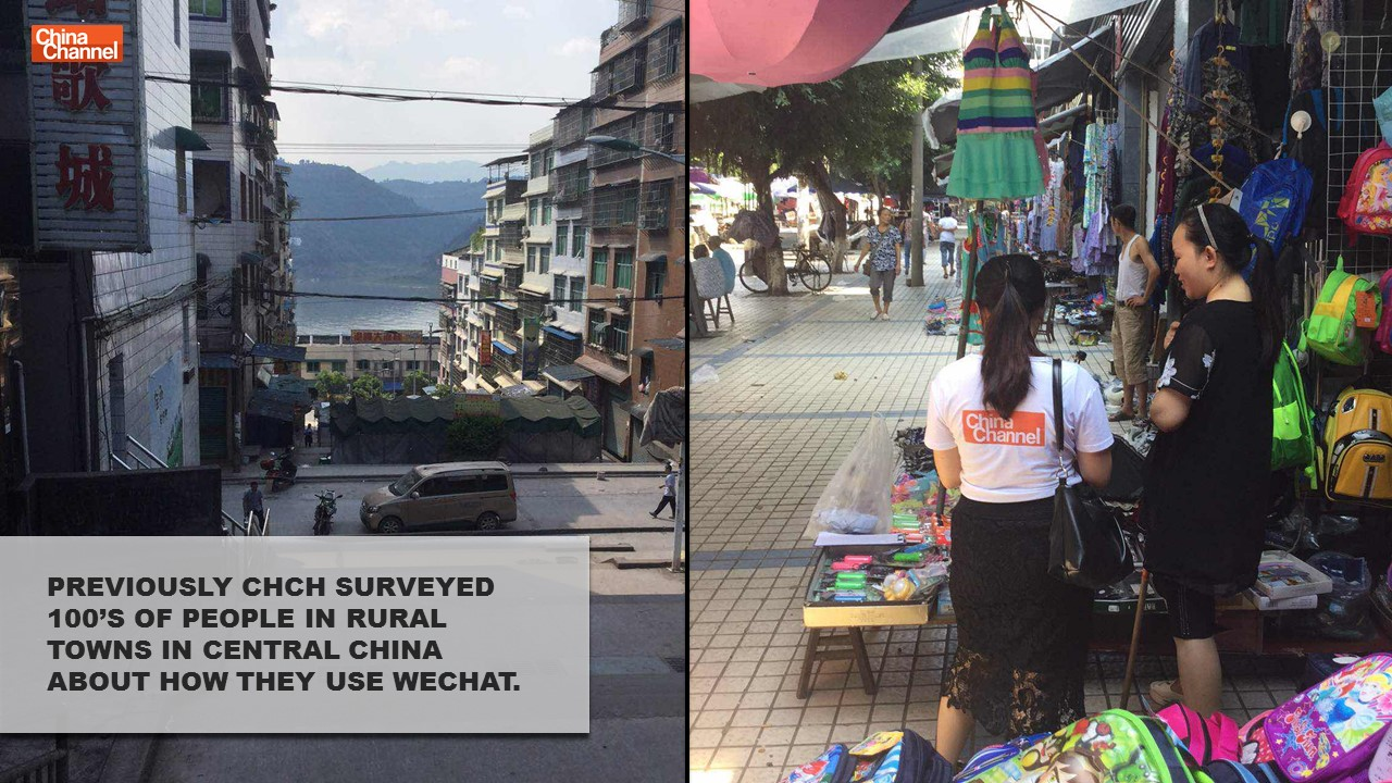 Rural Town WeChat Survey