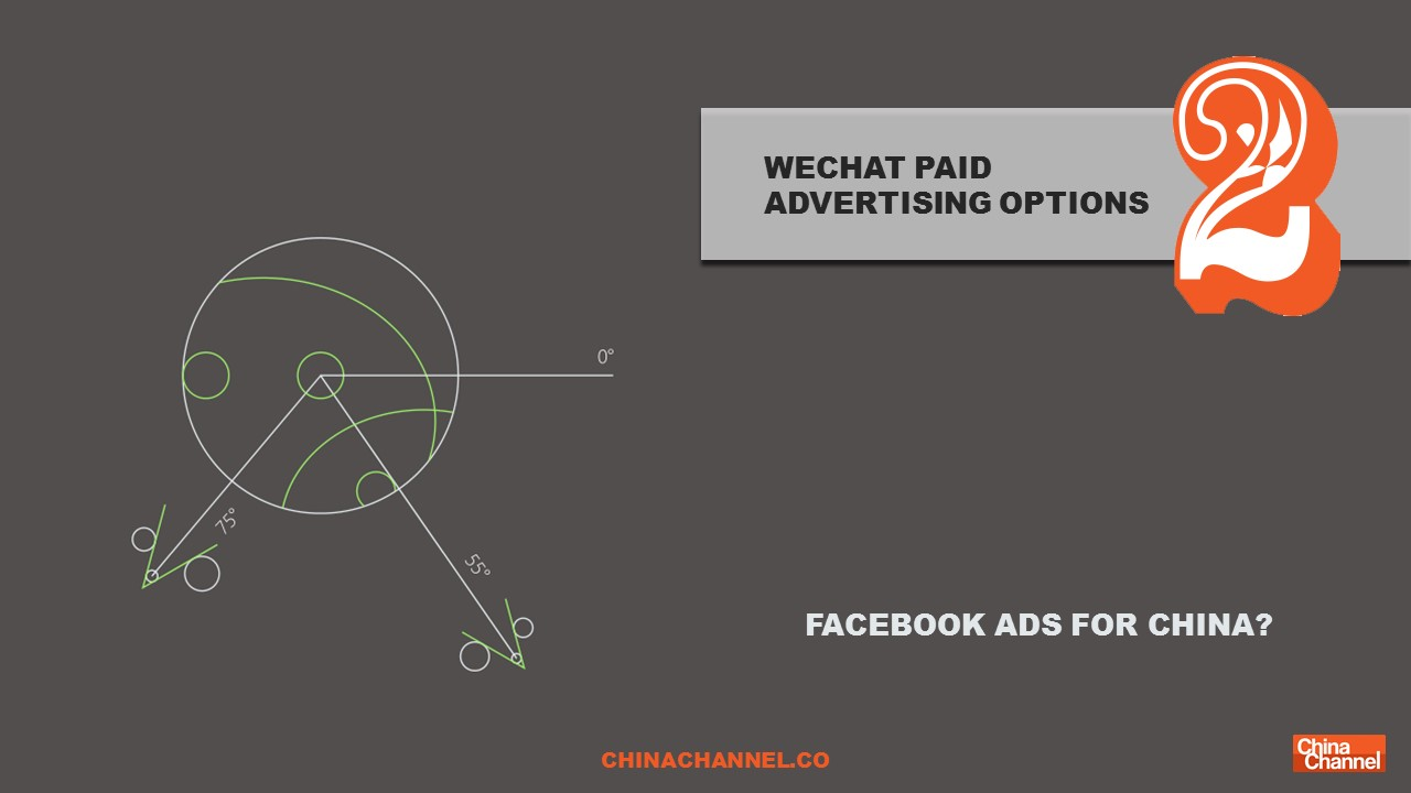 WECHAT PAID ADVERTISING OPTIONS