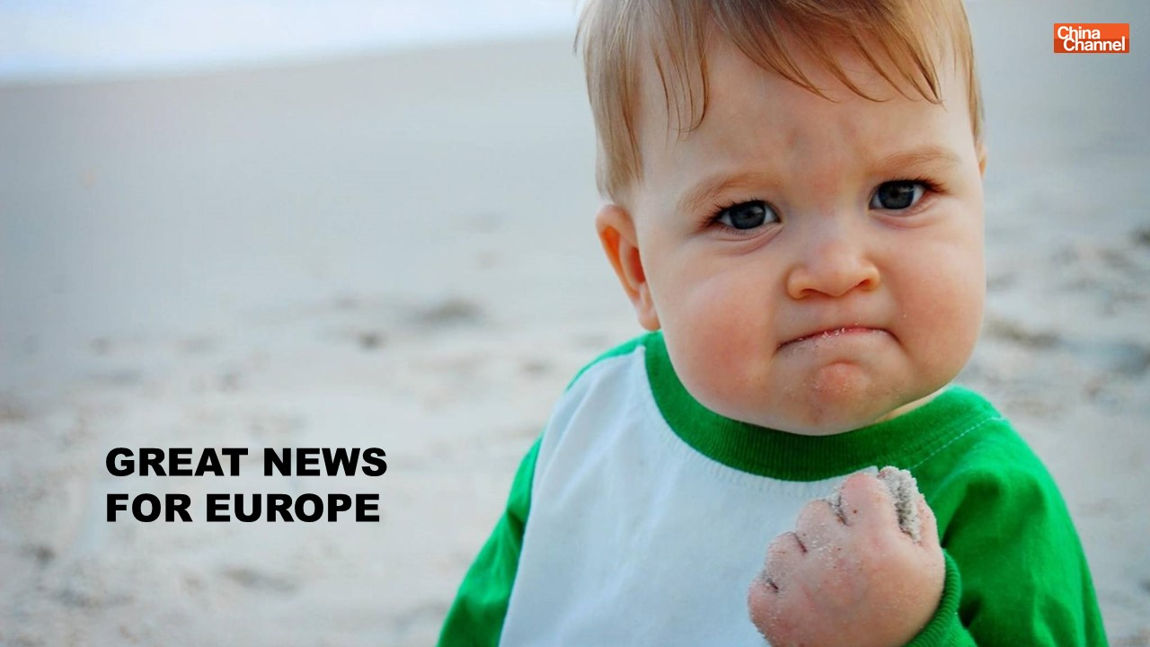 GREAT NEWS FOR EUROPE
