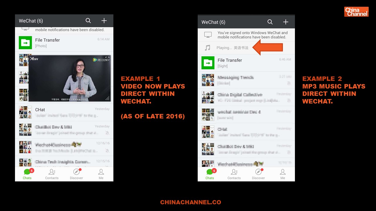 Recent New WeChat Features