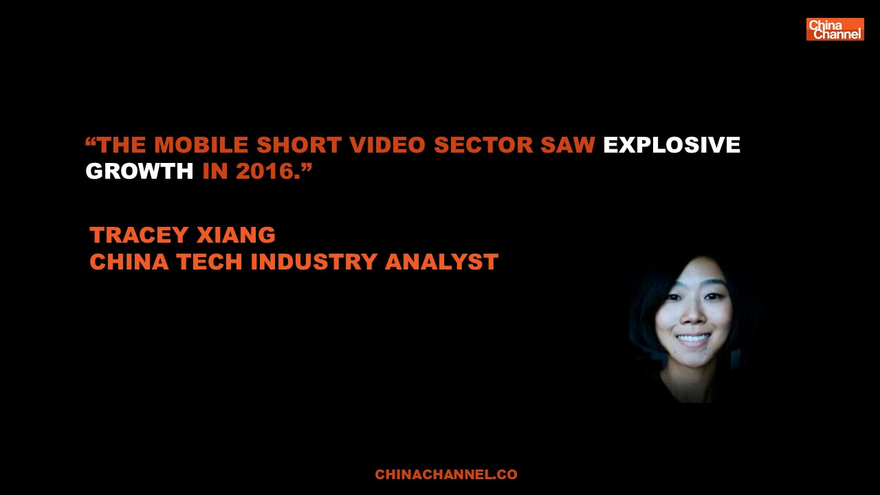 Quote TRACEY XIANG mobile short video