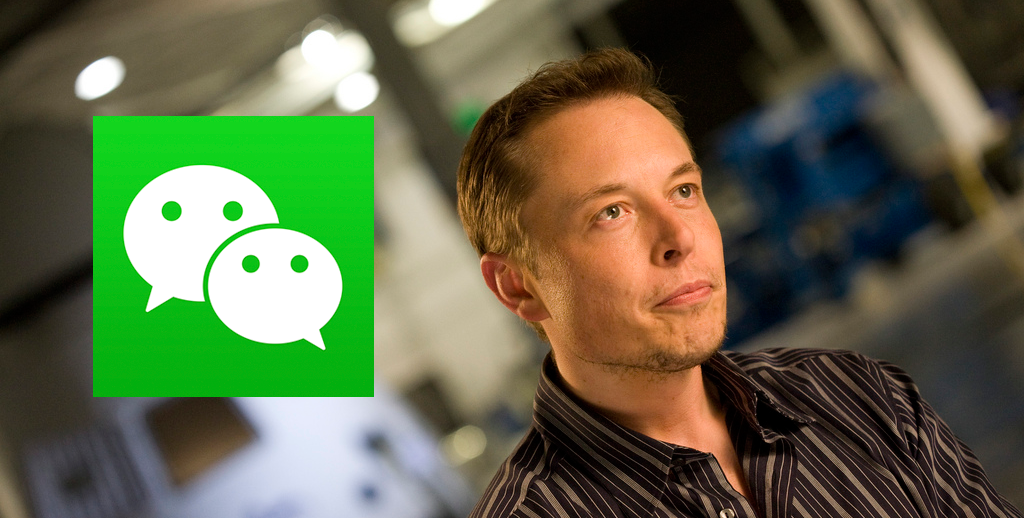 Elon Musk on WeChat Next?