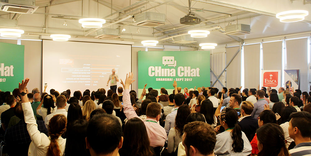 CHina CHat Conference Shanghai 2017 Matthew Brennan