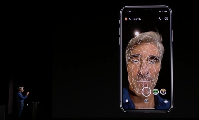 iPhone X Face Recognition