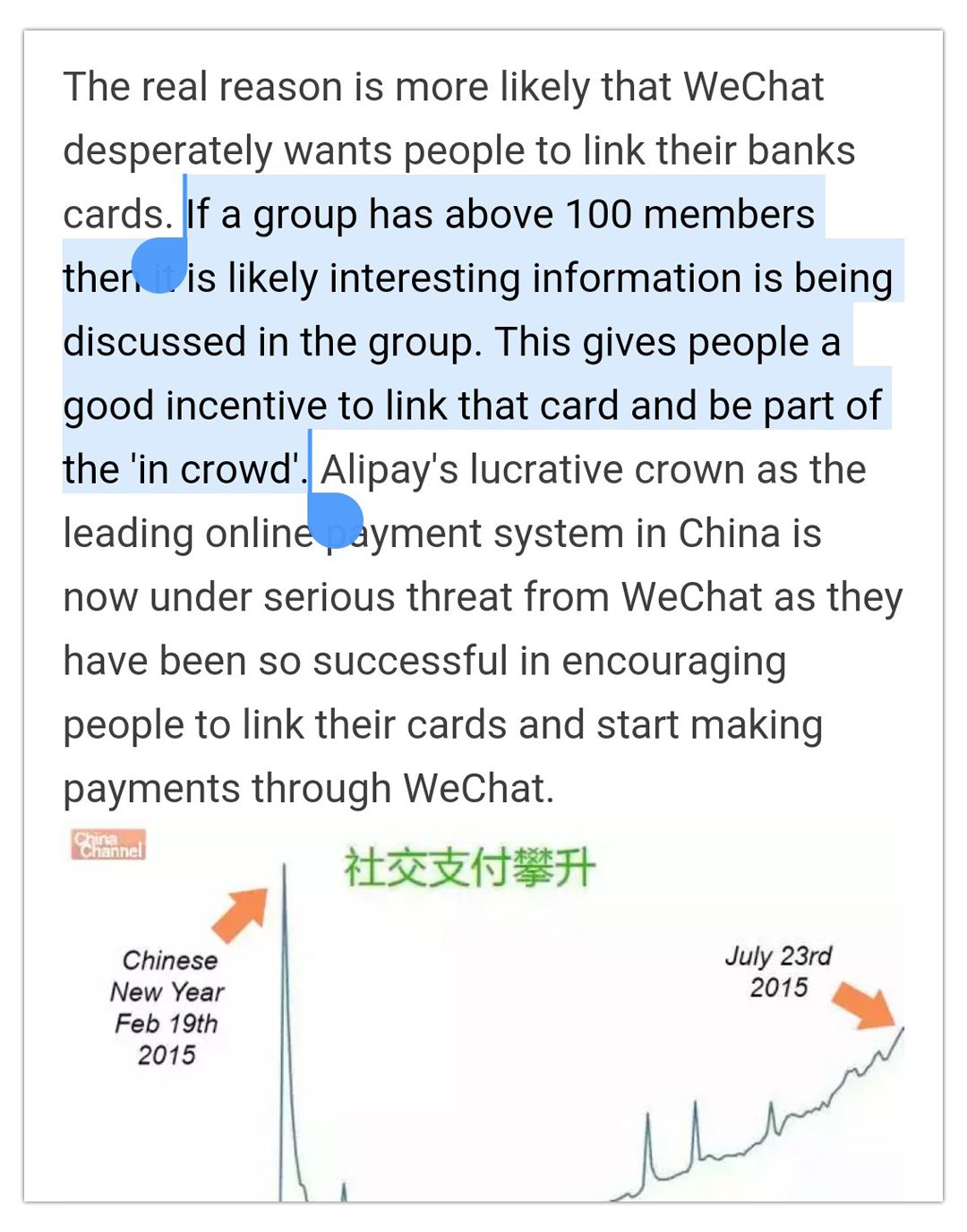 WeChat Group Limit 100 Growth Hack
